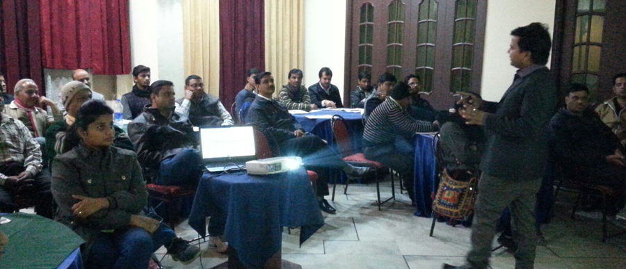 Monthly Partners Meet at Hotel Vishnu Priya, Near Gulab Bagh, Udaipur
